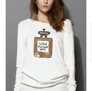 {Wildfox} Love Potion Sweater